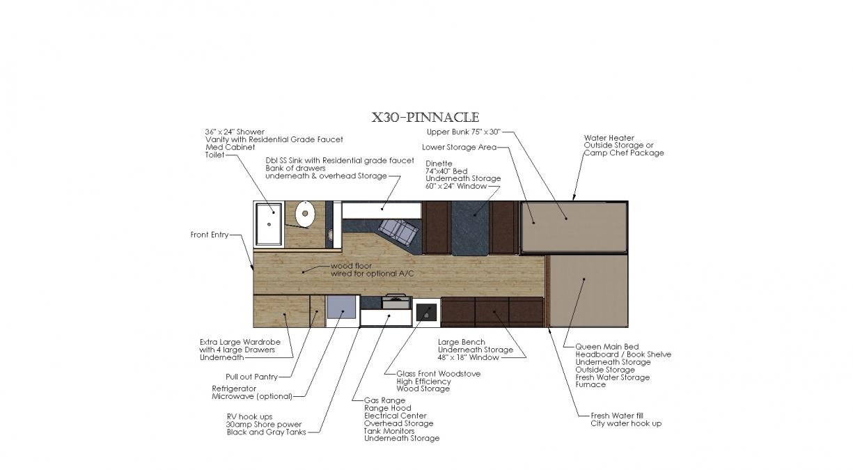 X30 - PINNACLE Solitude Series Camp